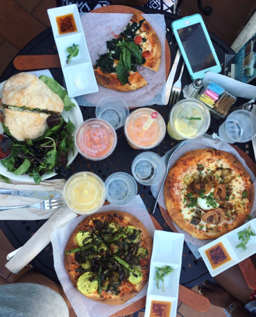 Urth Cafe in Los Angeles