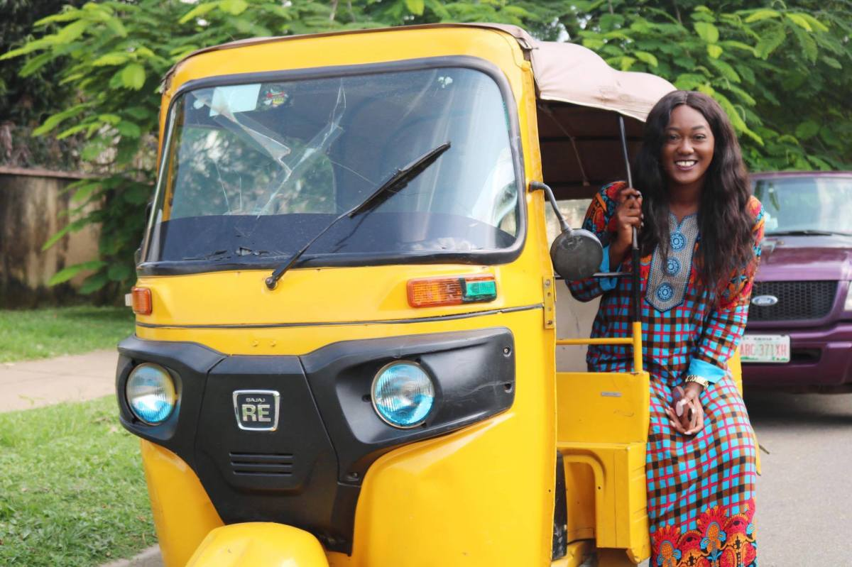My First Keke Napep Ride In Nigeria