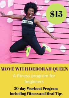 Cover Page of Deborah Queen Workout Program